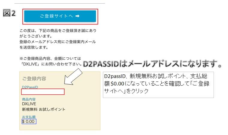 DXLIVE登録3